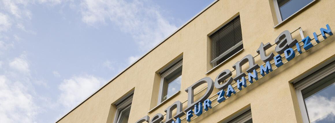 Außenansicht CenDenta Zentrum für Zahnmedizin in Berlin