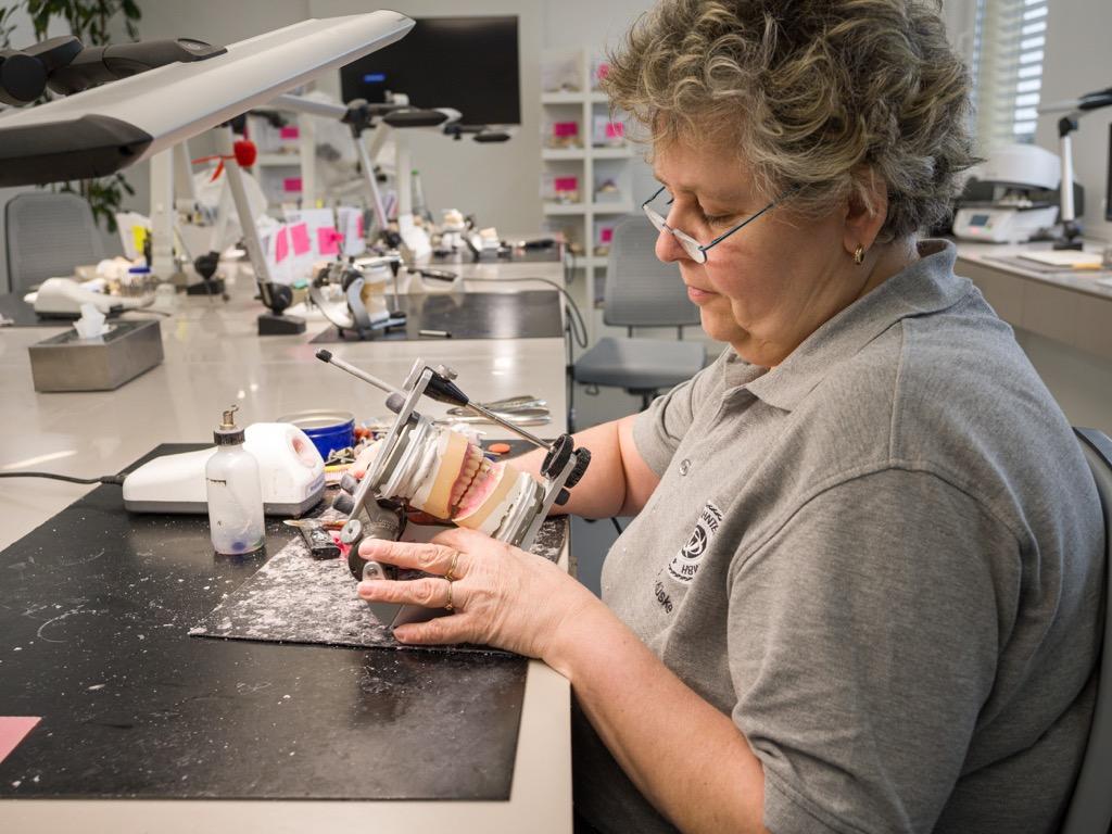 Herstellung einer Zahnprothese