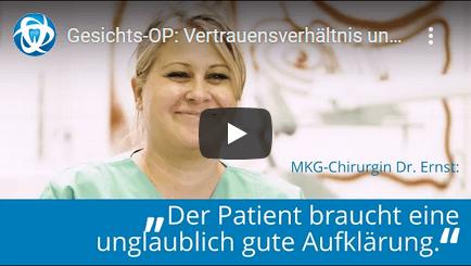 YouTube Thumbnail mit Frau Dr. Ernst
